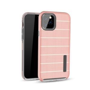 Hybrid case for iPhone 11 models - Rose Gold